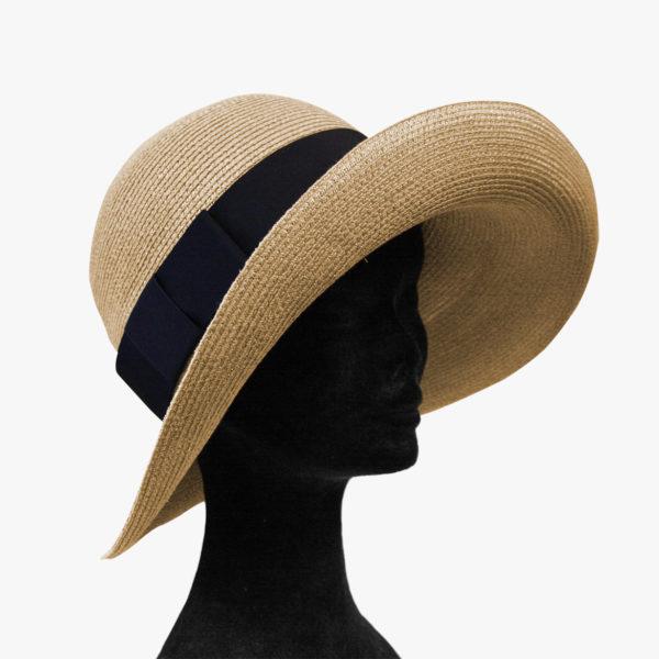 Cappello in paglia di Firenze lavorato a maglina aa47d8ba7b21