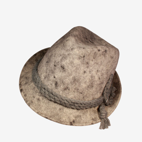 miglior valore cerca ufficiale codice coupon Cappello modello tirolese in feltro lana, produzione italiana