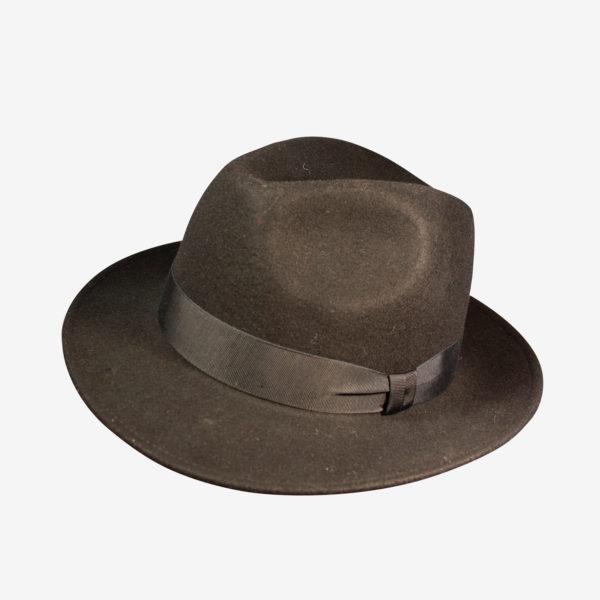 Cappello modello Fedora in feltro lana e358ff8fc1f4